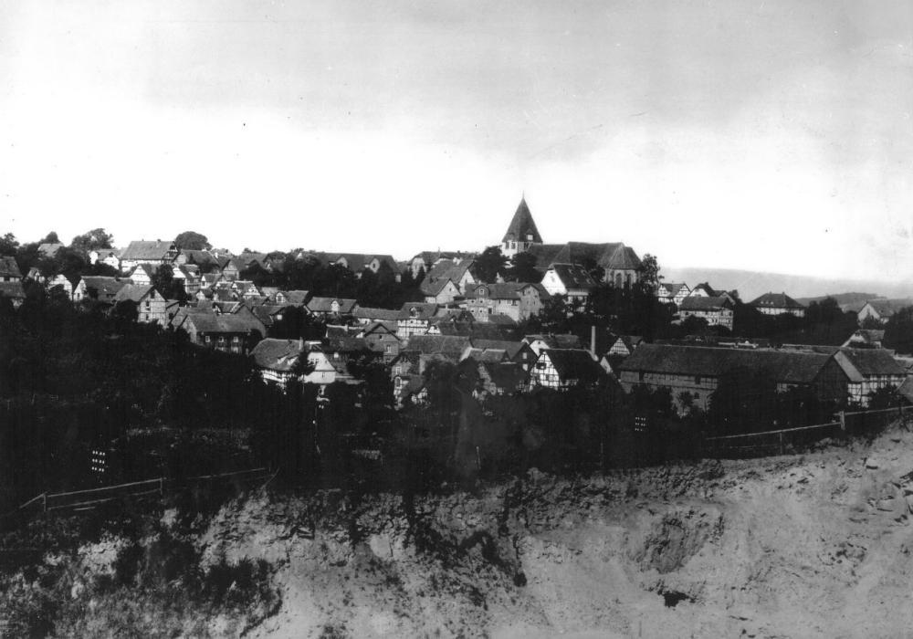 Ansicht von Halde um 1960