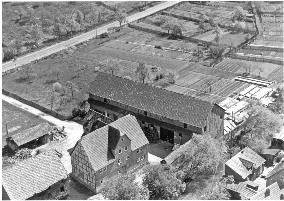 der Hof um 1960